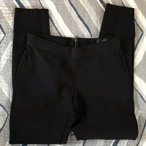 J. Crew black Pixie elastic waist skinny pants 4R